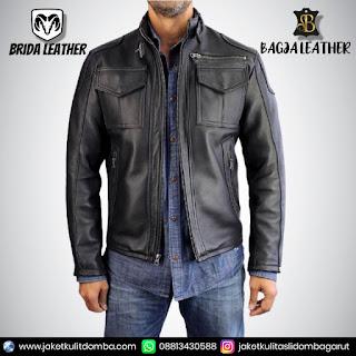 membersihkan jaket kulit