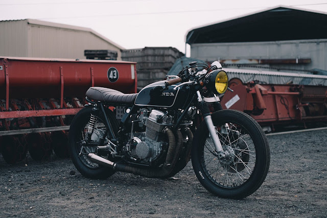 gambar modifikasi motor cafe racer - gambar.photo