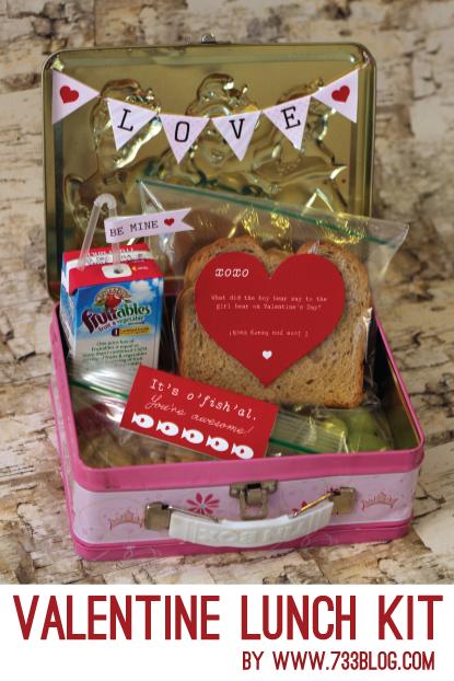 Valentine Lunch Kit