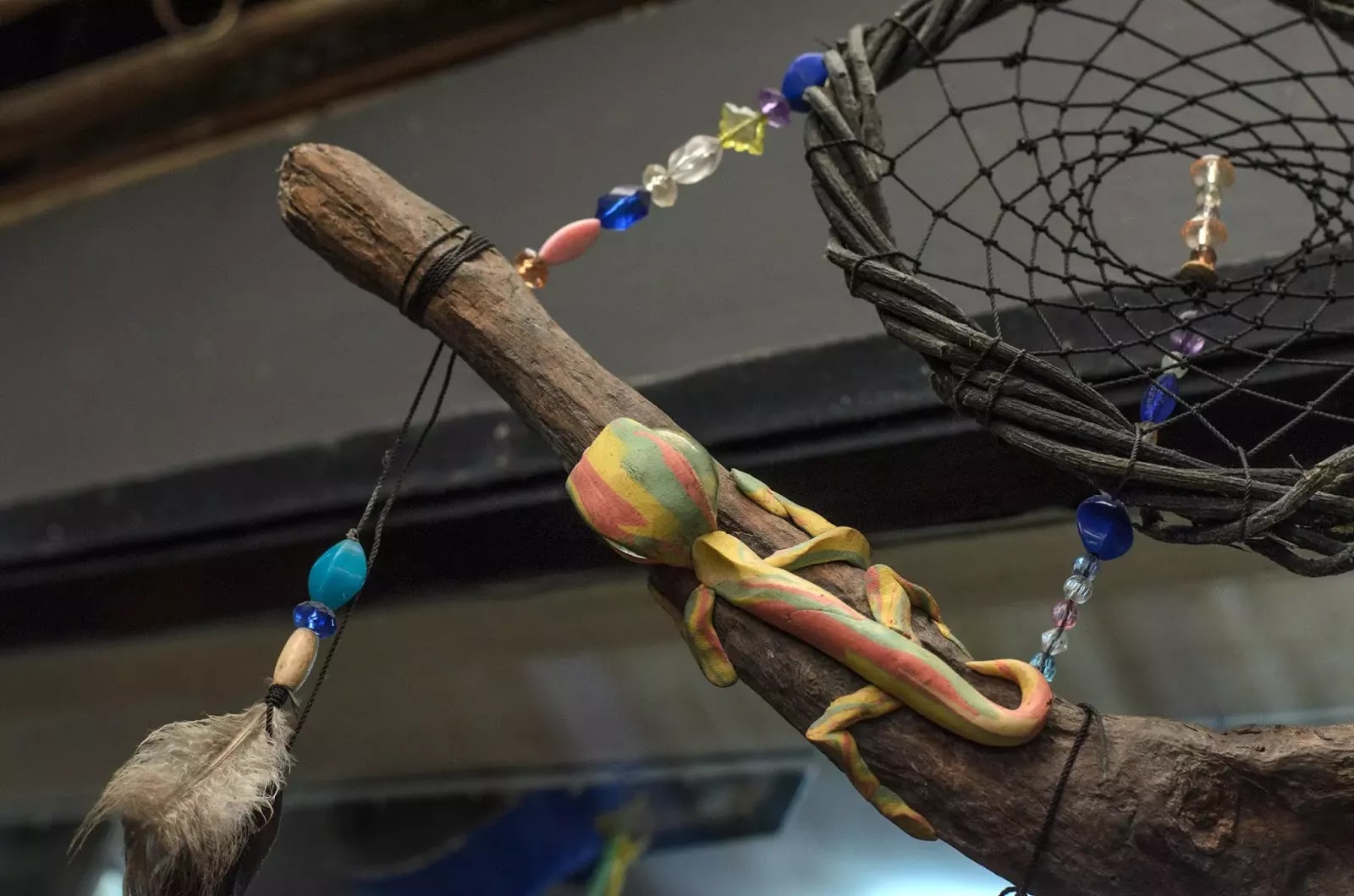 8th Tam-awan International Arts Festival Dreamweaver and Colourful Gecko Art