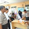 Kapolsek  Barombong Jalin Koordinasi Dengan Pihak Puskesmas Kanjilo, Untuk Antisipasi Virus Corona Bersama