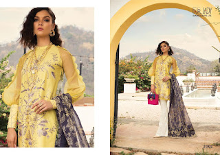 Fair lady Rang Rasiya lawn Cotton pakistani Suits catalog