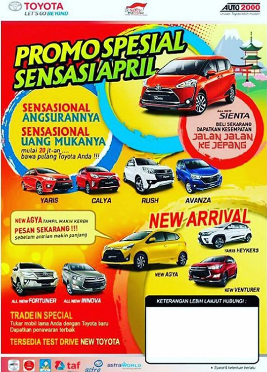 Rekomendasi Sales Toyota Karawaci Tangerang Paling Murah