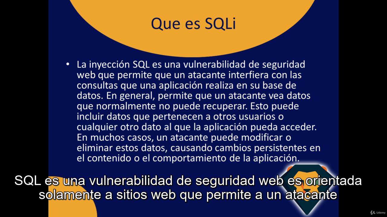 Udemy - Máster en Base de Datos SQL desde 0 hasta Avanzado +Hacking! 3