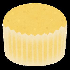 蒸しパンのイラスト(黄色)