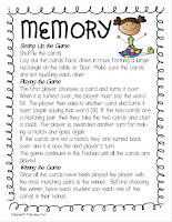 Year Long Articulation Therapy Bundle Card Game Instructions Example