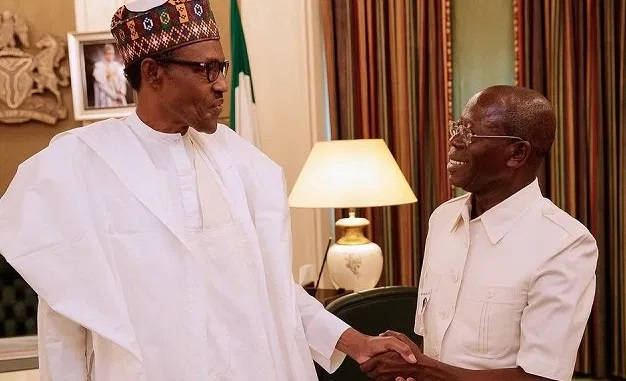 Breaking: Buhari Worried, Warns Oshiomhole Against Violence In Edo Election After Uninvited Aso Rock Visit