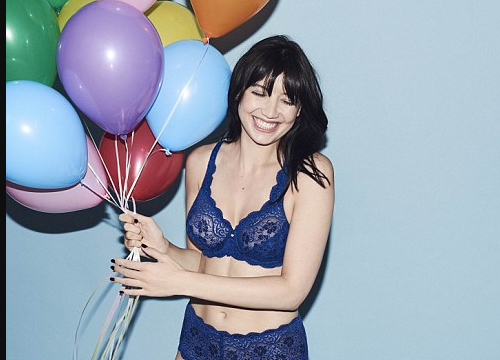 Triumph Lingerie Fall Winter Latest Campaign stars Daisy Lowe