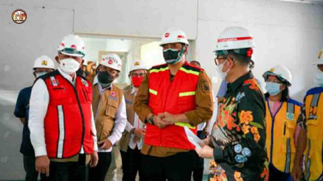 Bobby Nasution Tinjau Ruangan Isoman RSUD dr Pirngadi dan Isoter eks Hotel Soechi Medan