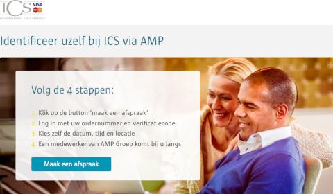 Procédure de confirmation d'identité ICS