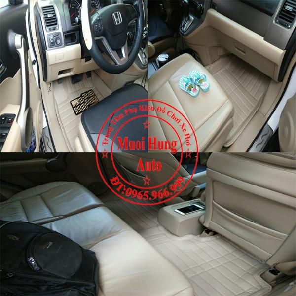 Thảm Lót Sàn Ô Tô 4D Honda Crv 01