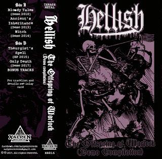 """Η συλλογή των Hellish """"The Offspring of Warlock"""""""