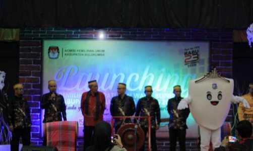 Pemukulan Gong, Tandai Launching Pilkada Bulukumba 2020