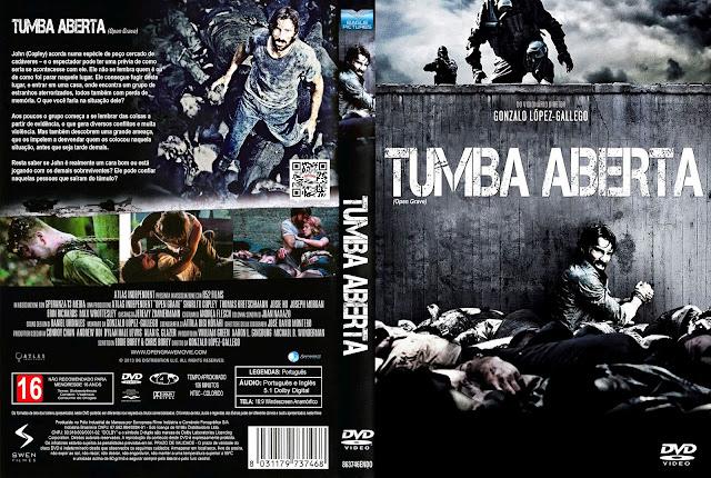 Capa DVD Tumba Aberta [Exclusiva]