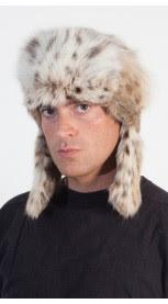 Lynx fur hat - Russian style