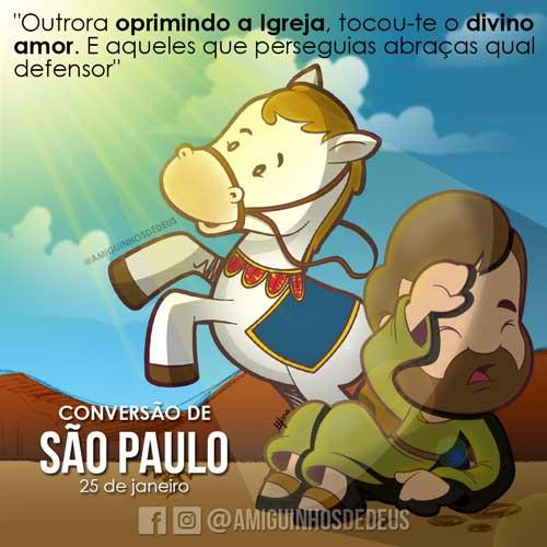 Conversão de São Paulo dessenho