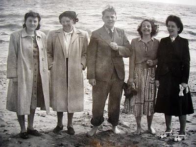 On Bridlington beach