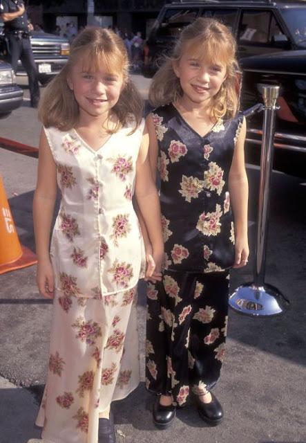 Gêmeas Olsen crianças