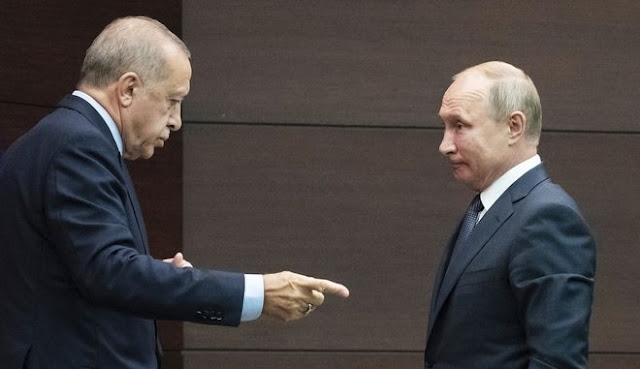 """""""Διαζύγιο"""" Ερντογάν - Πούτιν προ των πυλών"""