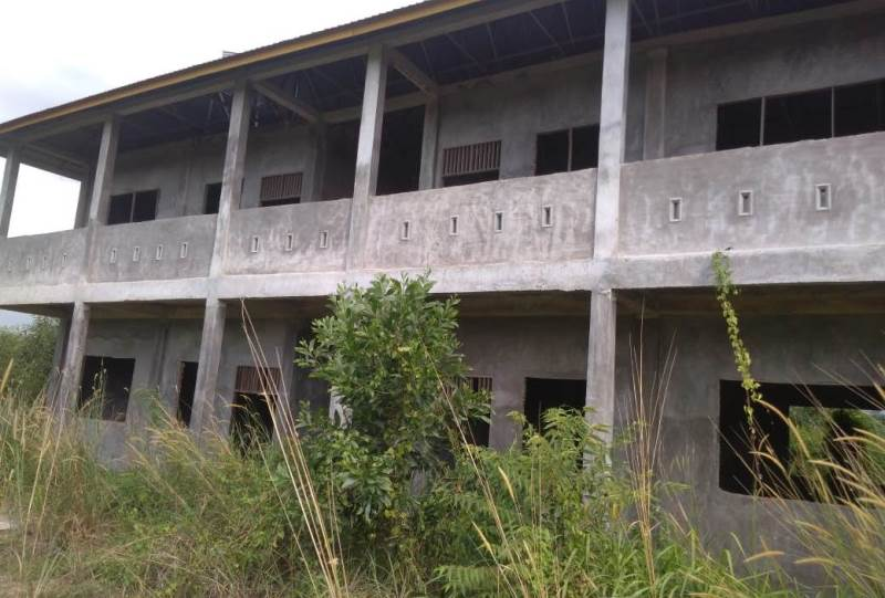 Camat Dumai Selatan Dukung Pembangunan Gedung Sekolah  Dilanjutkan Kembali