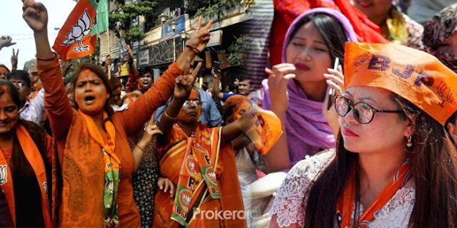 एग्ज्टि पोल: कम से कम 2 राज्यों पर भाजपा का कब्जा होगा | NATIONAL NEWS