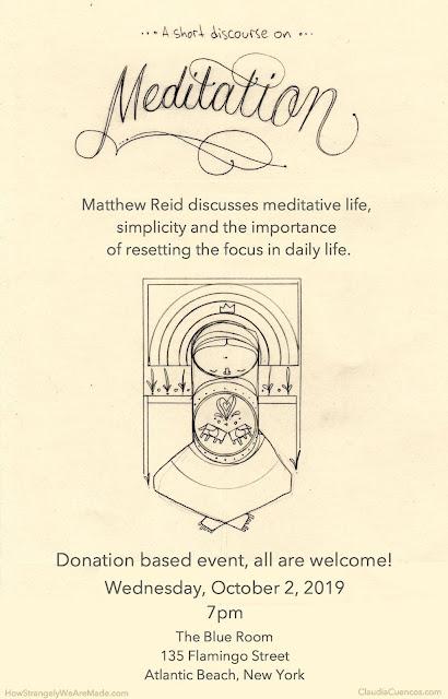 Matthew Reid meditation workshop Long Island New York