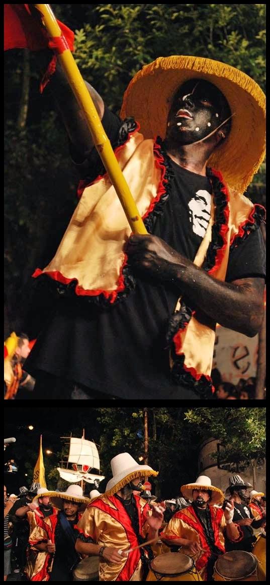 Carnaval. Desfile de Llamadas, La Tangó. 2010.