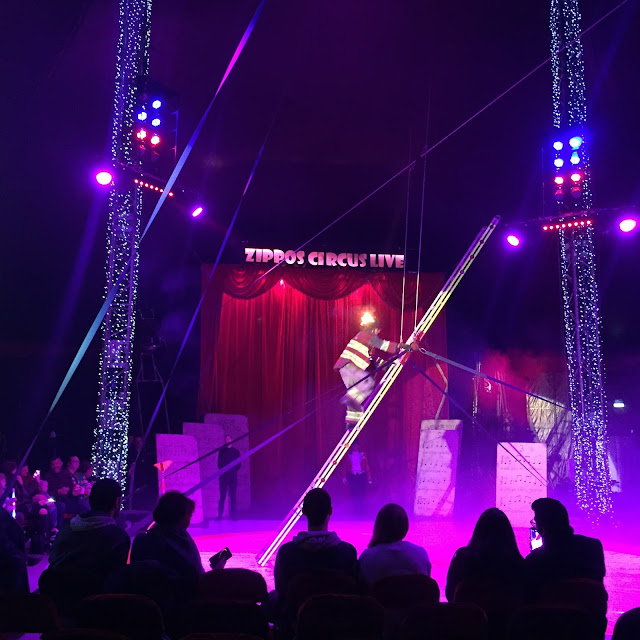 Fireman at Zippos Circus