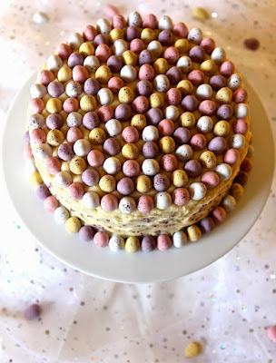 A showstopping Easter Cake, Rich Mocha Easter Cake (gluten free)