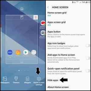 Cara hide aplikasi di android smartphone