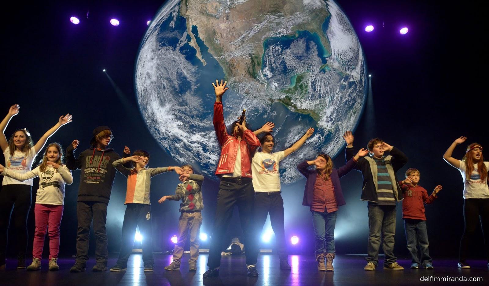 Delfim Miranda - Michael Jackson Tribute - Heal the World - Public invited in performance