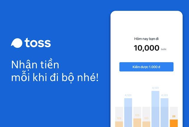 Đi bộ kiếm tiền trên App Toss? Review và mẹo cheat