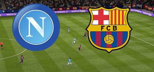 نتيجة  مباراة برشلونة ونابولي بث مباشر 25-2-2020 في دوري ابطال اوروبا