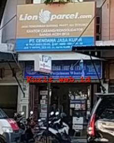 Agen Lion Parcel Banda Aceh