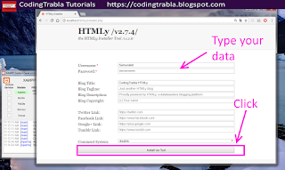 Install HTMLy 2.7.4 flat-file CMS / Blog on Win7 localhost via XAMPP ( PHP7 ) 14
