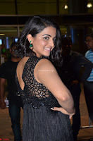 Wamiqa Gabbi in a sleeveless Black Designer Transparent Gown at 64th Jio Filmfare Awards South ~  Exclusive 065.JPG