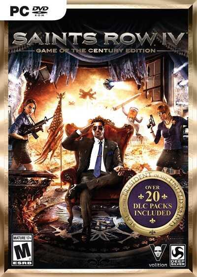 โหลดเกมส์ [Pc] Saints Row IV: Game of the Century Edition