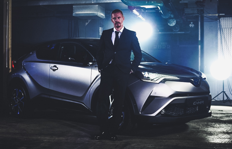 Guerlain Chicherit toyota c-hr