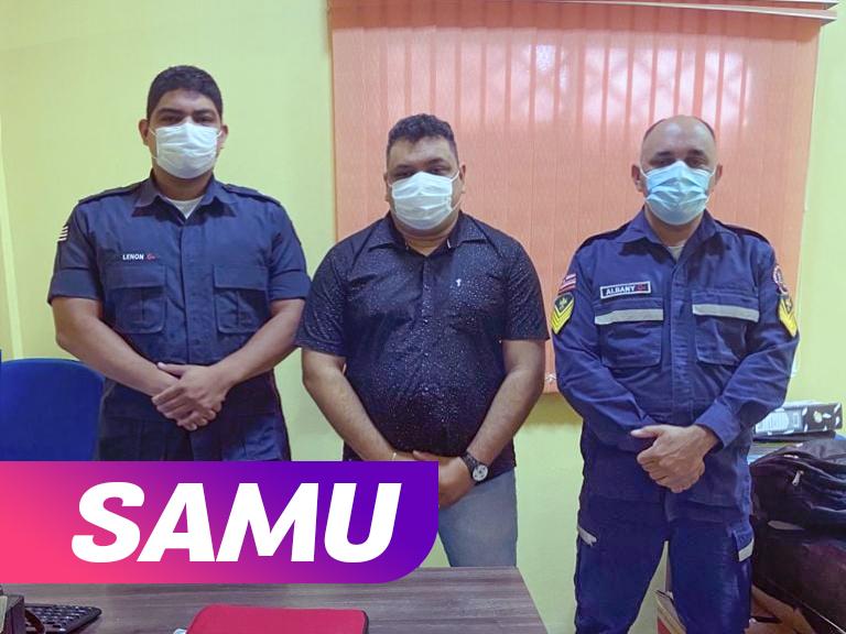 Secretário de Saúde de Chapadinha alinha diretrizes de ações com Bombeiros visando inauguração do SAMU