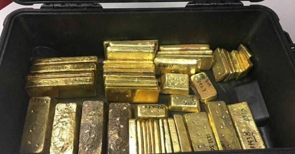 Venezolano detenido en Aruba con 50 kilos de oro