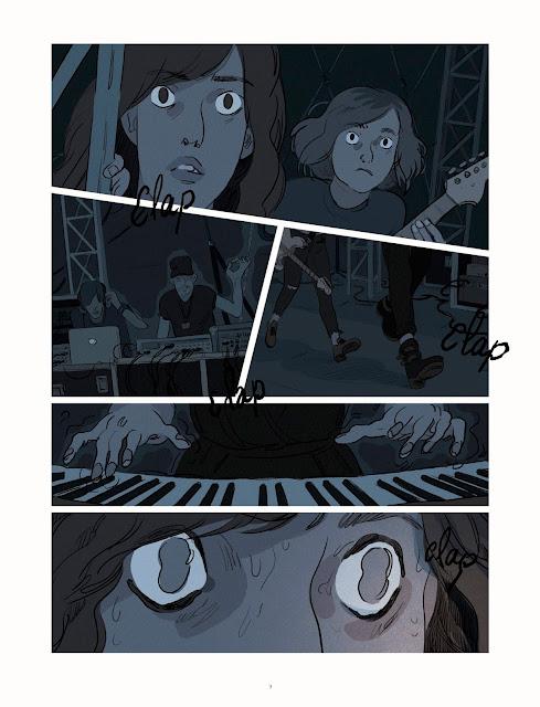 La nuit est mon royaume de Claire Fauvel aux éditions Rue de Sèvres Page 5