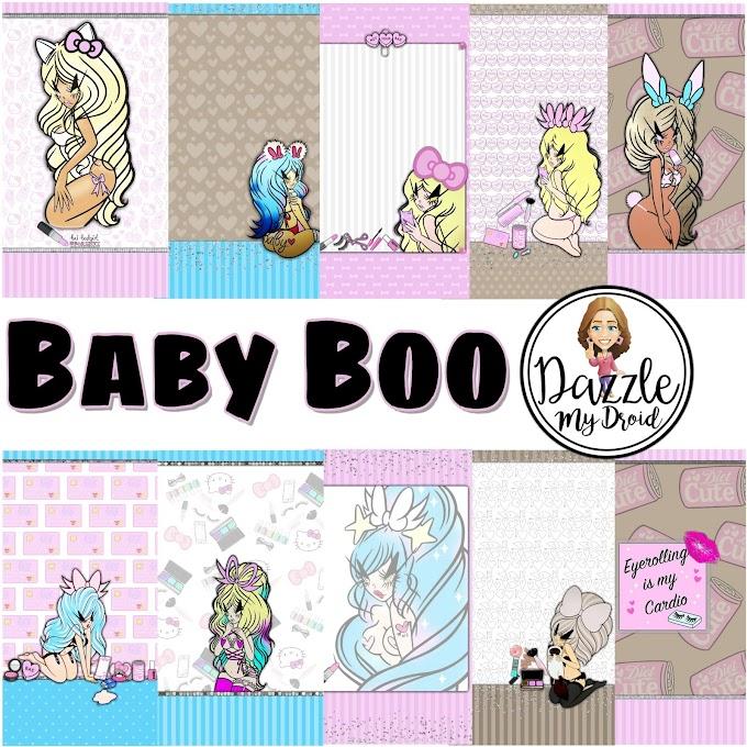 Baby Boo Wall Set