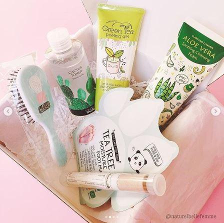 Beauteque beauty box August 2019