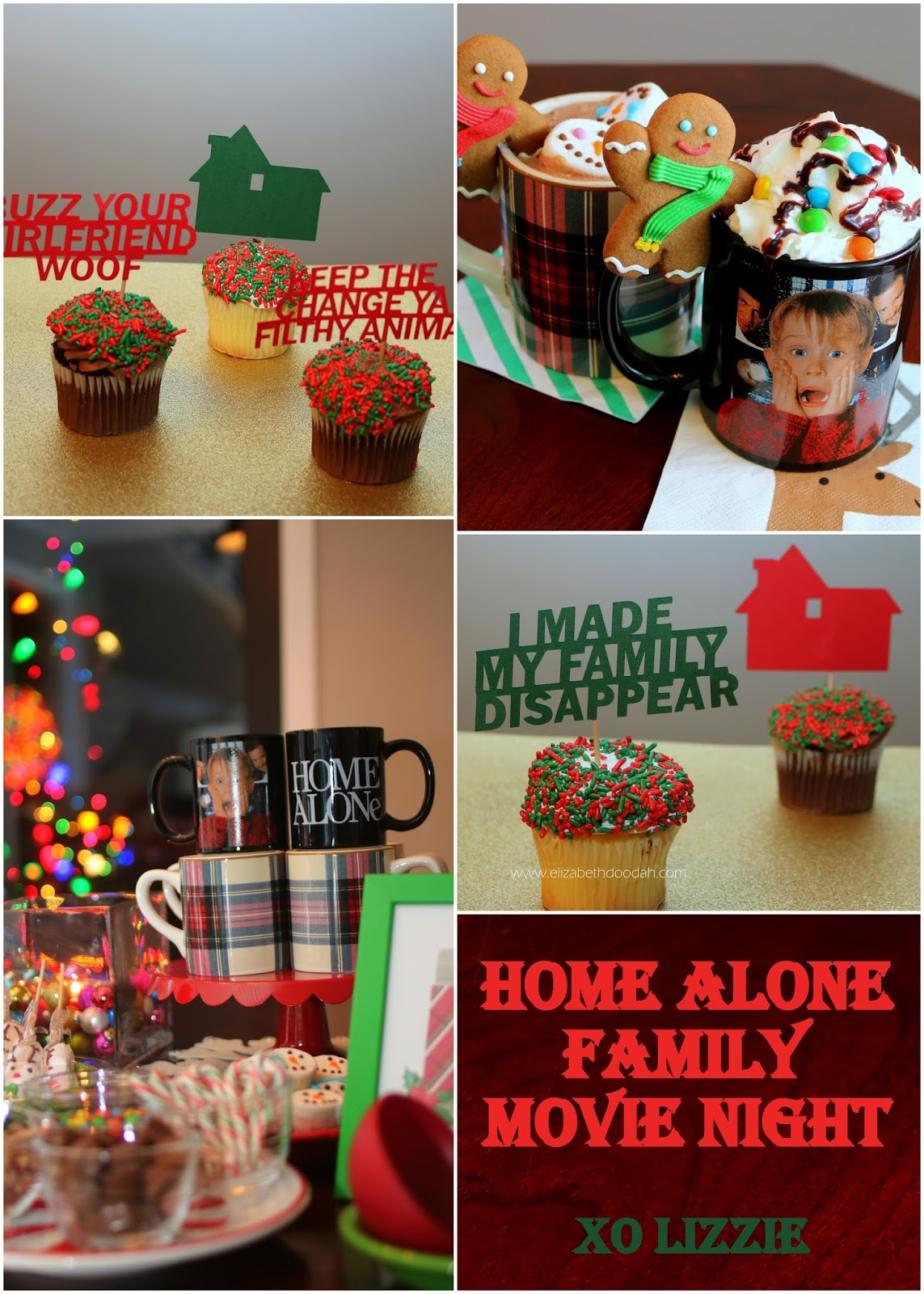 Doo dah home alone party for Home alone theme decorations