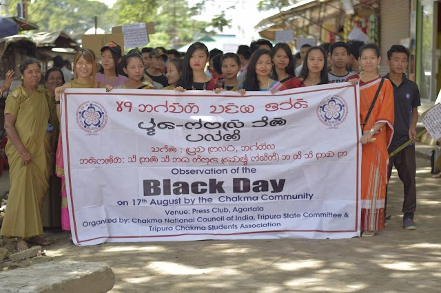 Black Day for Chakma's 17th August