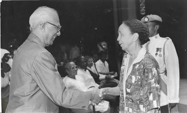 With Guyana's President, Cheddi Jagan