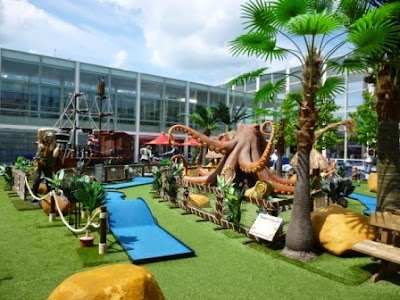 Pirate Golf in Milton Keynes