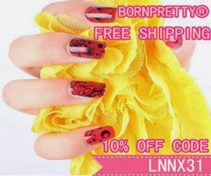 bornpretty store 10% of code