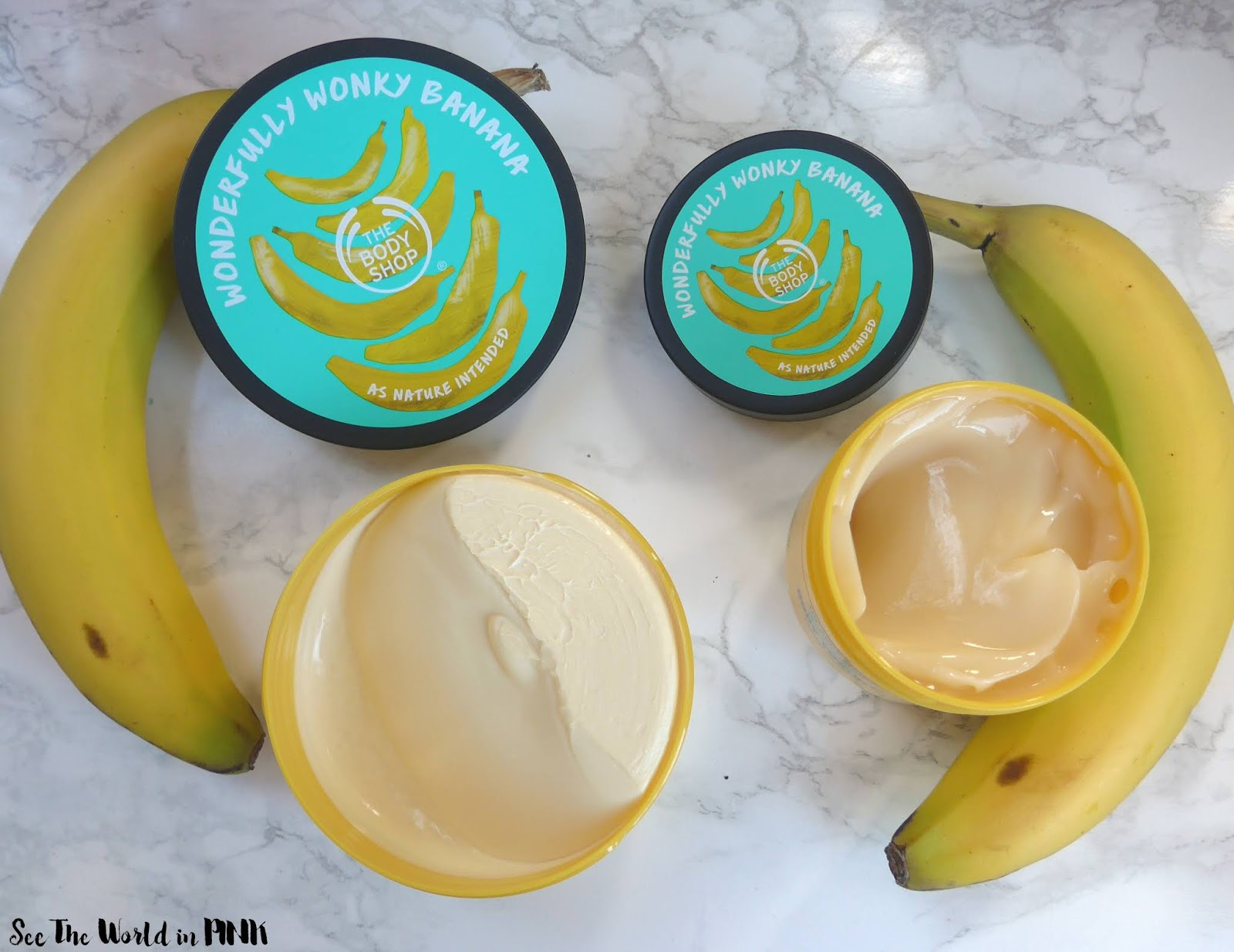 The Body Shop Is Bananas - B - A - N - A - N - A - S