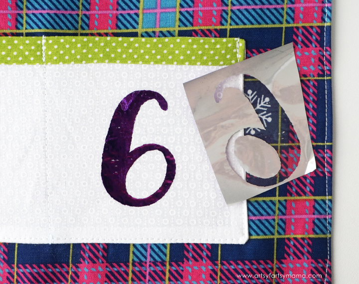 Count down the days to Christmas with this colorful DIY Fabric Advent Calendar!